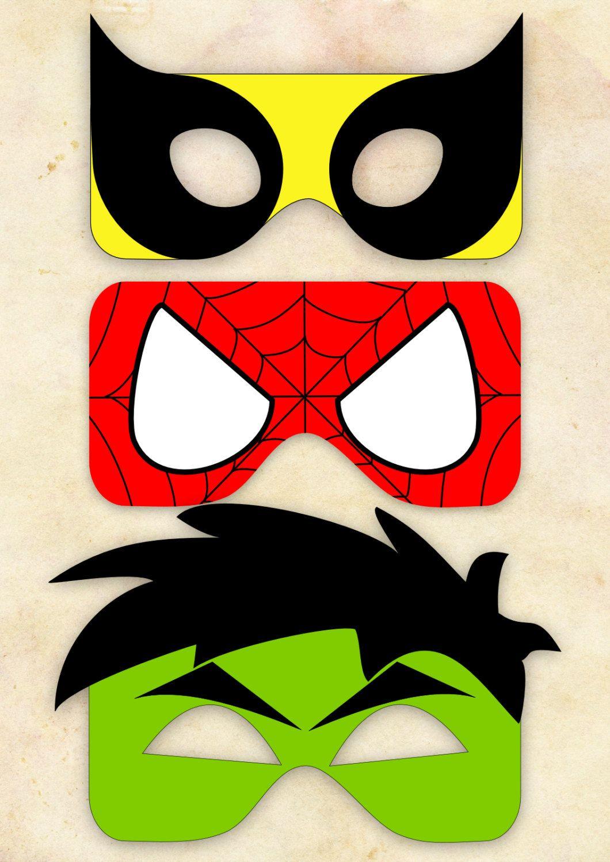 superherois | Party Avengers - Superheroes | Pinterest | Máscaras ...