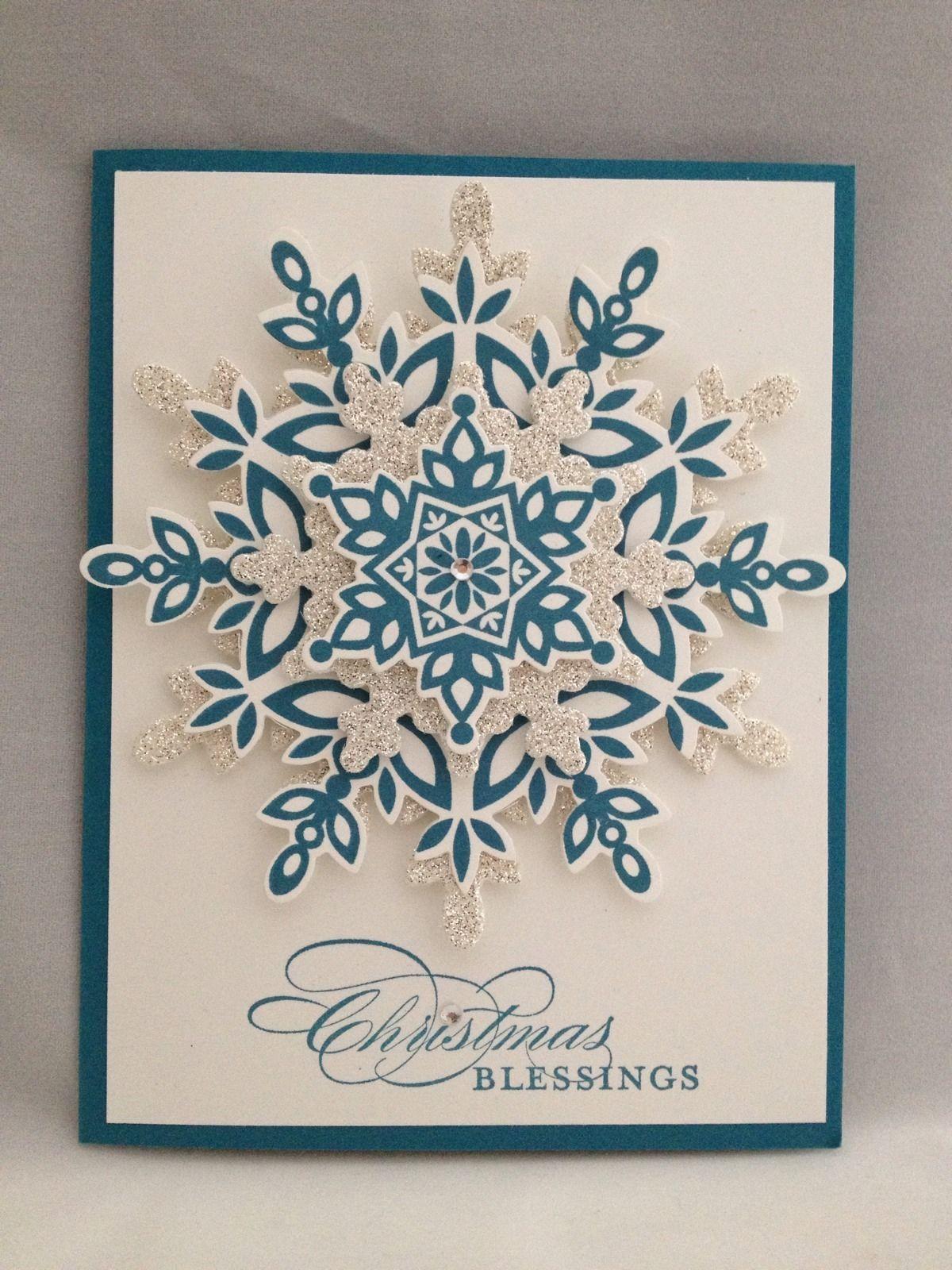 Christmas Blessing Stampin Up Christmas Pinterest Christmas