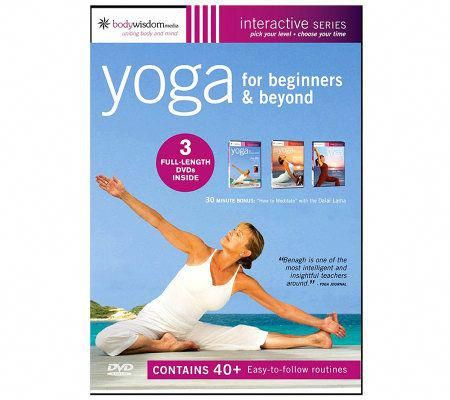 yoga for beginners 3disc dvd set fuunnyystuff  yoga for