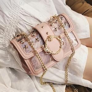 Transparent Jelly bag 2019 Fashion New High Quality PVC Women's Designer Handbag