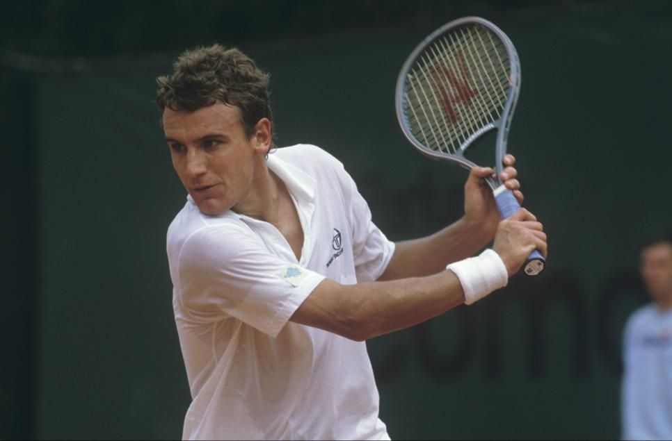 Legend Mats Wilander still lives the game and is back in