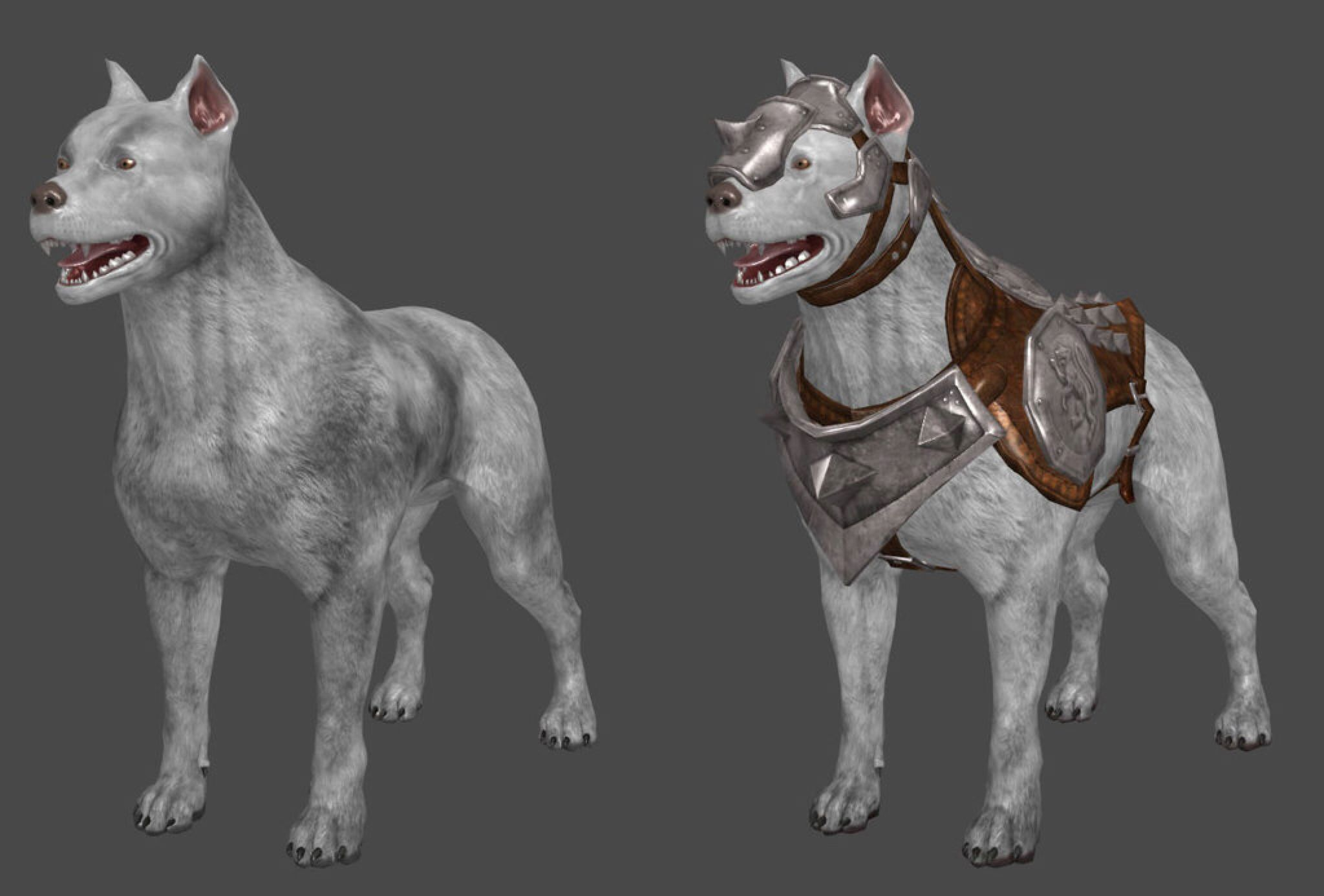DAI Mabari and Mabari Armour XPS by Padme4000 on @DeviantArt