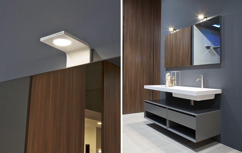 Mirrors and lamps curva antonio lupi arredamento e - Antonio lupi mobili bagno ...