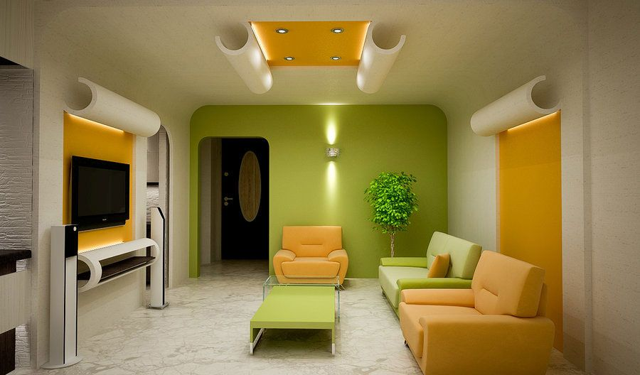 galerry living room designs green sherwin williams hearts of palm - Green Living Room Designs