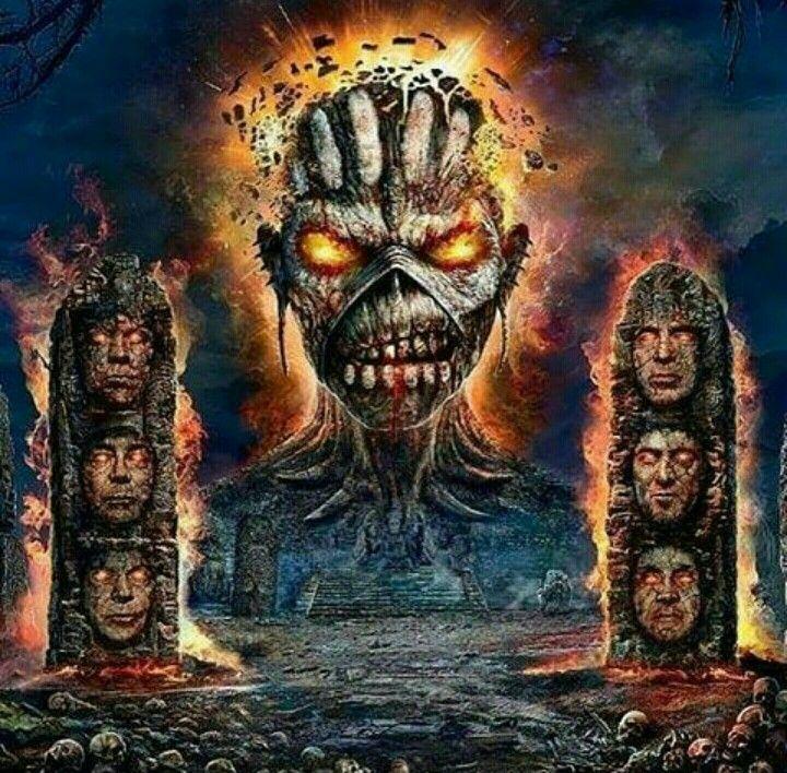 The Book Of Souls Iron Maiden Iron Maiden Eddie Heavy Metal