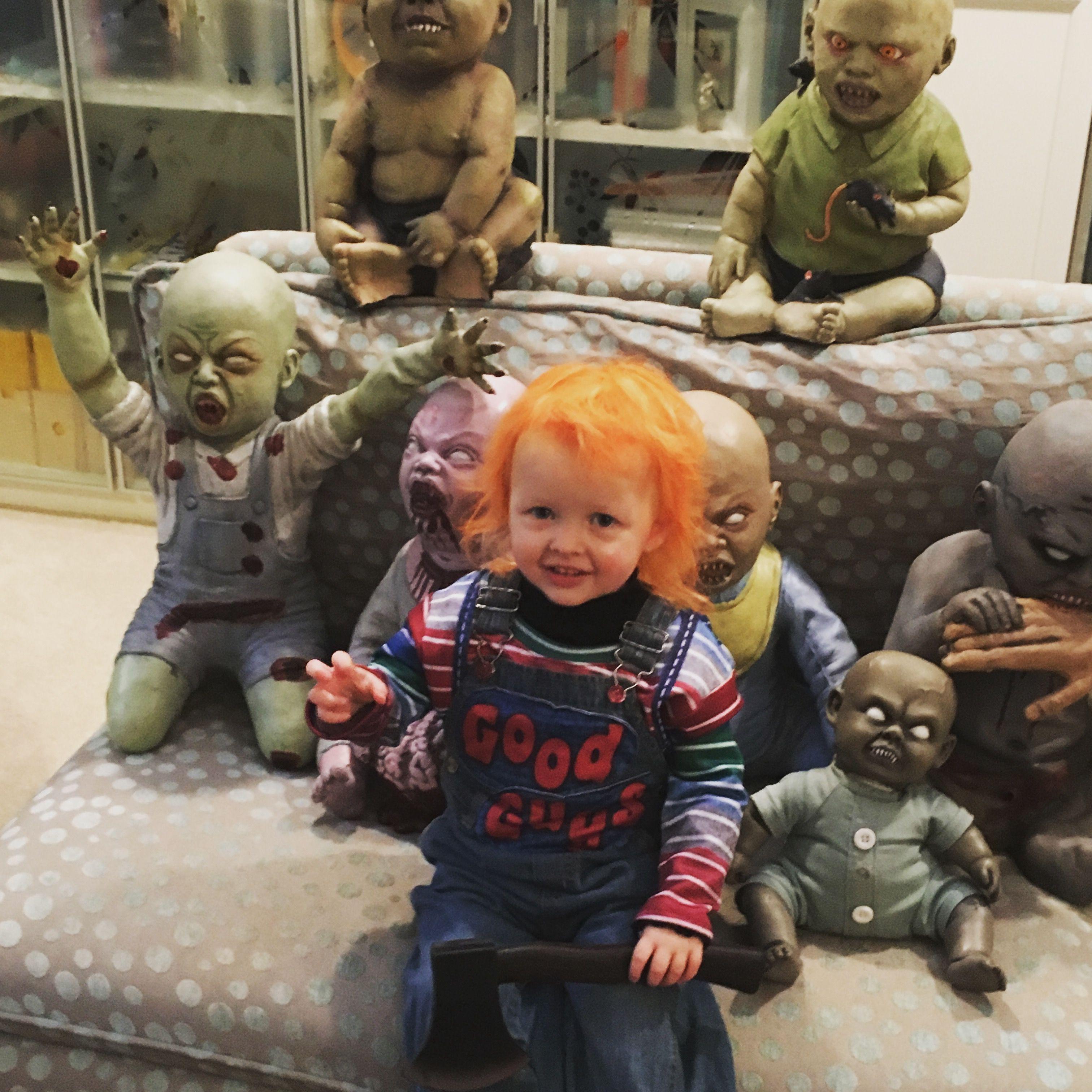 Chucky toddler Halloween costume Toddler halloween