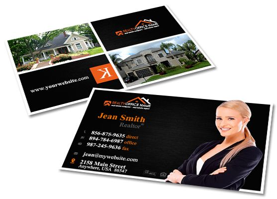 Creative real estate business card template modern business cards creative real estate business card template modern business cards realtor business cards real accmission Image collections