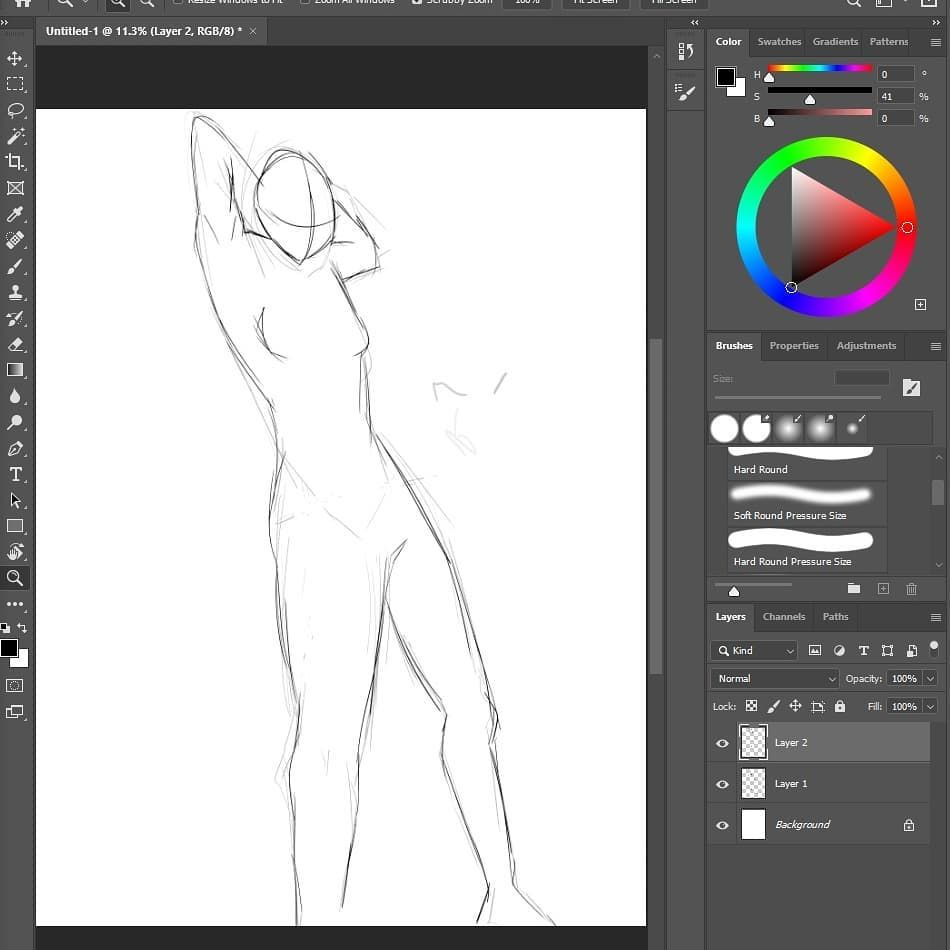 Bit of posing practice. Before I got this new #xppen tablet I haven't drawn in a long time digitally so I'm quite rusty rn😅 . . . #sketch #pose #practice #art #digitalart #artistsoninstagram #photoshop #canvas #character #illustration #draw #drawing #graphicstablet
