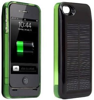1600mah Compact Solar Power Charger With Plastic Case For