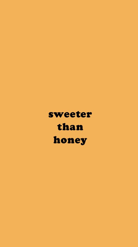 wallpaper honey yellow aesthetic sweet Aesthetic