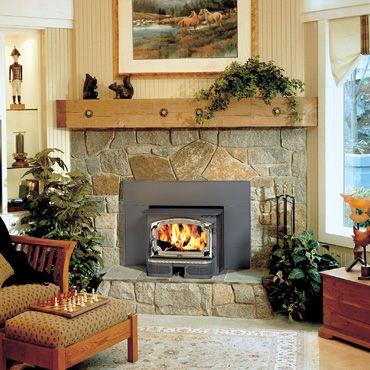 Lopi Revere Fireplace Insert Wood Burning Fireplace Inserts