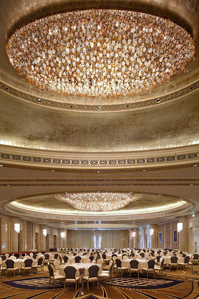 The St Regis By Lasvit Ceiling Light Design Hotel Interior Design St Regis Hotel