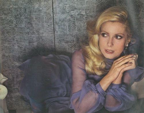 Catherine Deneauve  - Guy Bourdin, Vogue 1973