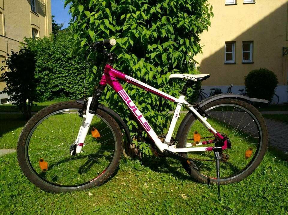 Bulls Fahrrad In Weiss Pink In Bayern Augsburg Bulls