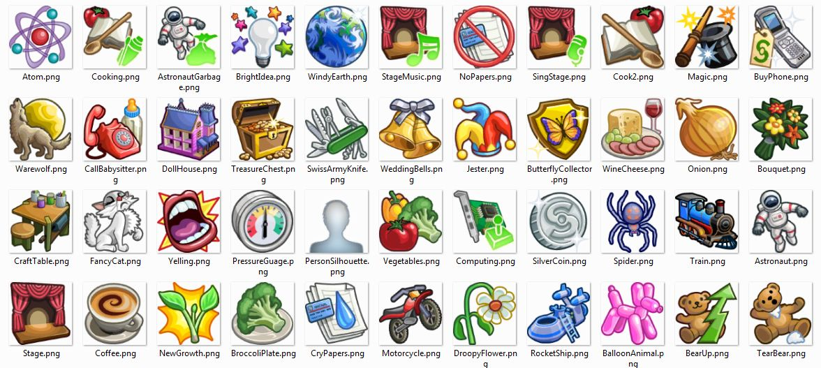Mod The Sims Sims 4 Icon Pack Sims 4 Sims Sims Mods
