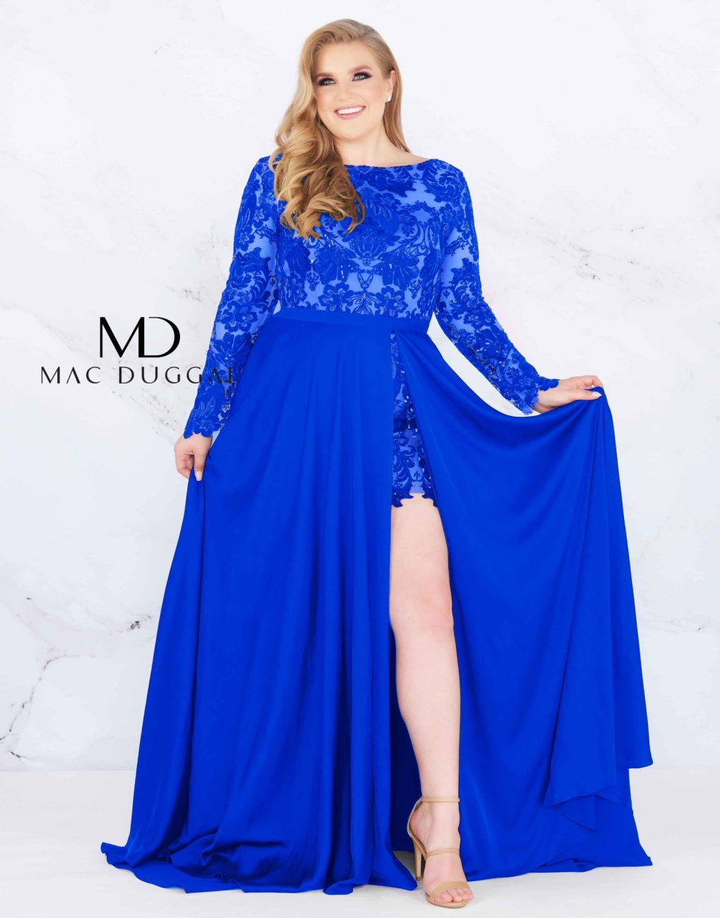 66809F - Mac Duggal Plus Size Dress in 2019 | Plus size prom ...