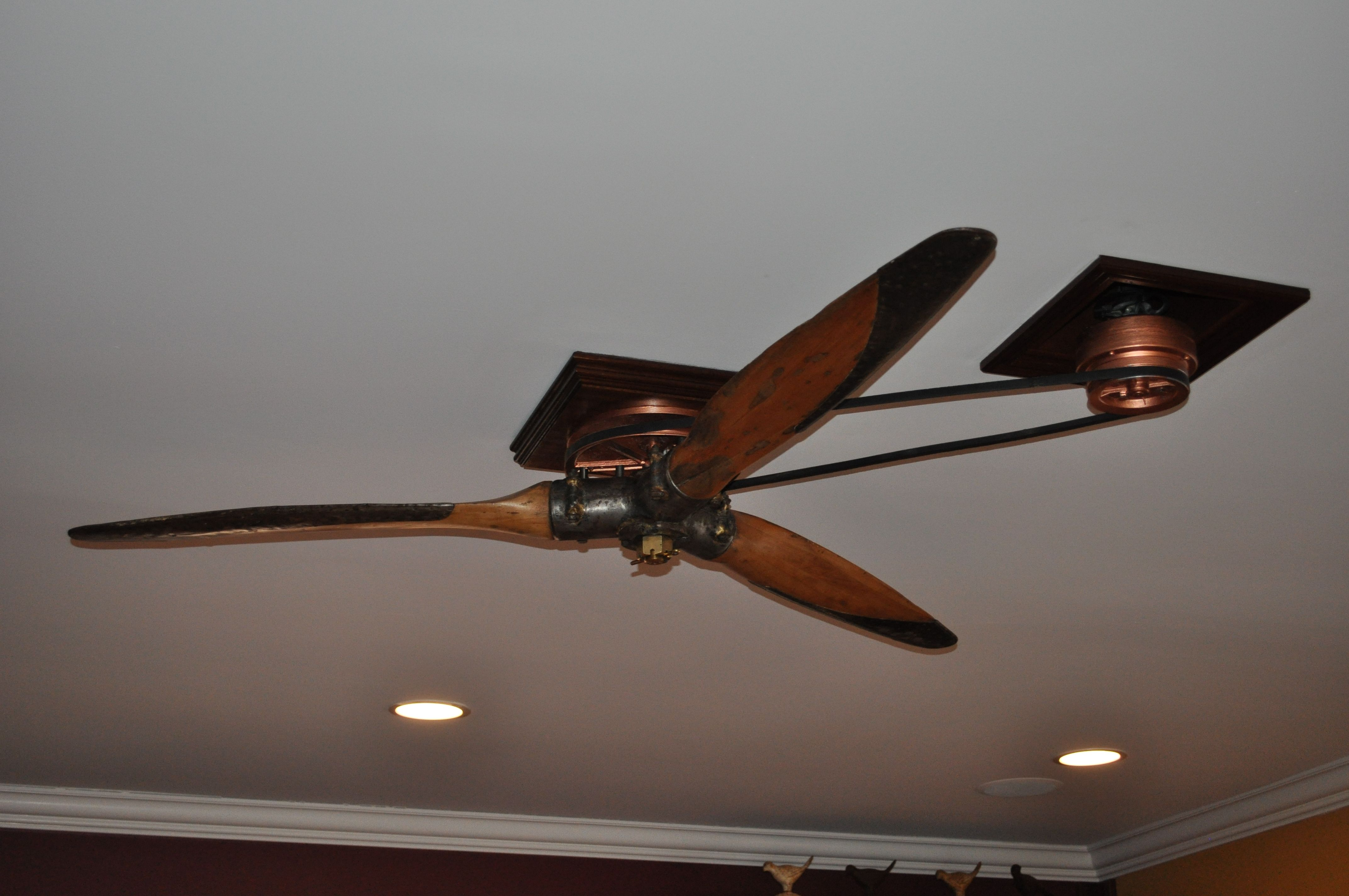 Dsc 0396 Propeller Ceiling Fan Belt Driven Ceiling Fans