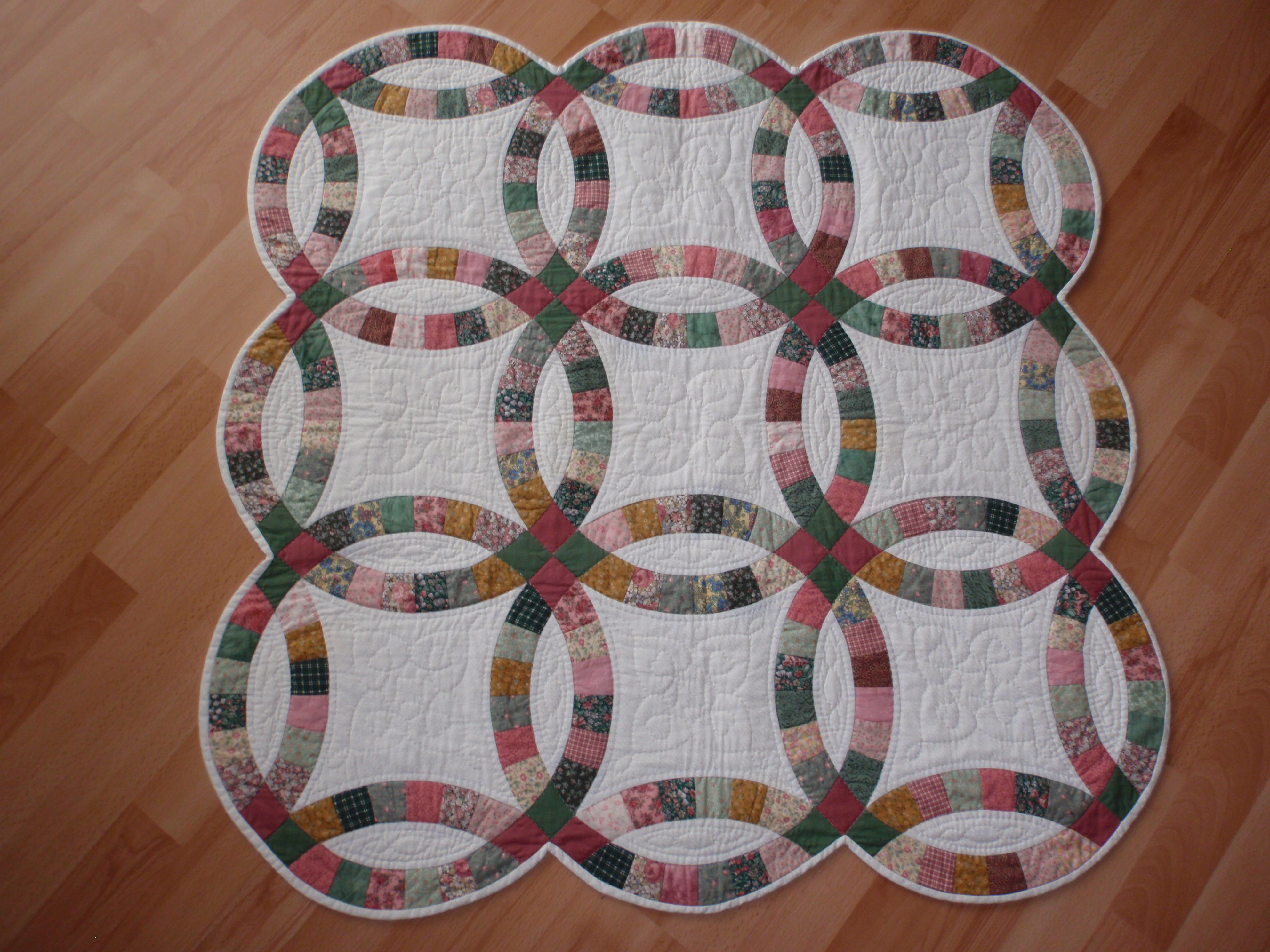 Double Wedding Ring Double Wedding Ring Quilt Along Pinterest