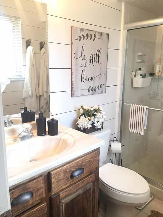Faking It Painted Shiplap Edition With Images Bathrooms