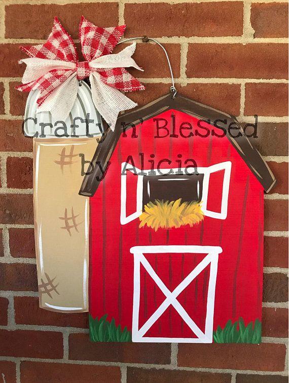 Barn Door Hanger Made To Order Painting Ideas Door