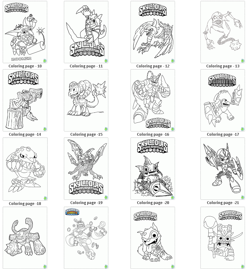 Pin by Crafty Annabelle on Skylanders Printables