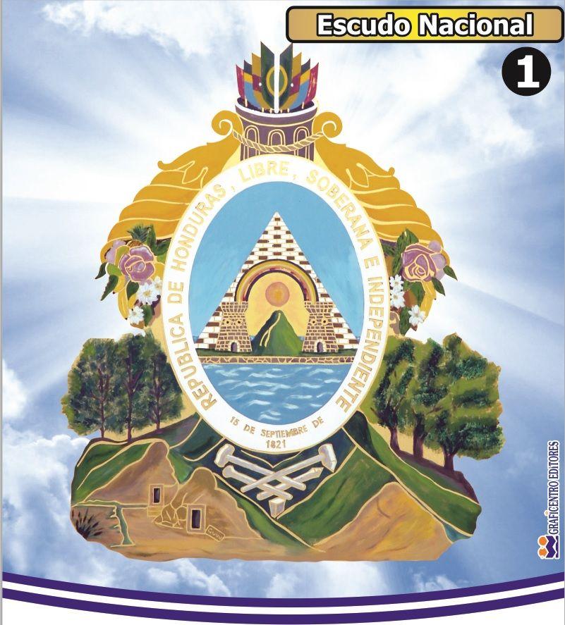 En El Escudo Nacional De Honduras Podemos Apreciar Como Aparecen Representadas Una Piramide Y Dos Torres Sobre Egyptian Tattoo Sleeve Egyptian Tattoo Egyptian