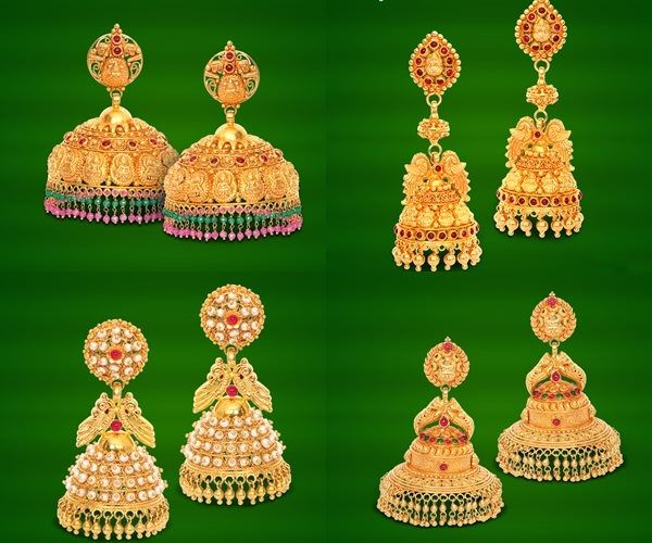 a321c22bc GRT Jewellers Earrings Collection, GRT Jewellers Gold Earrings Collection,  Gold…
