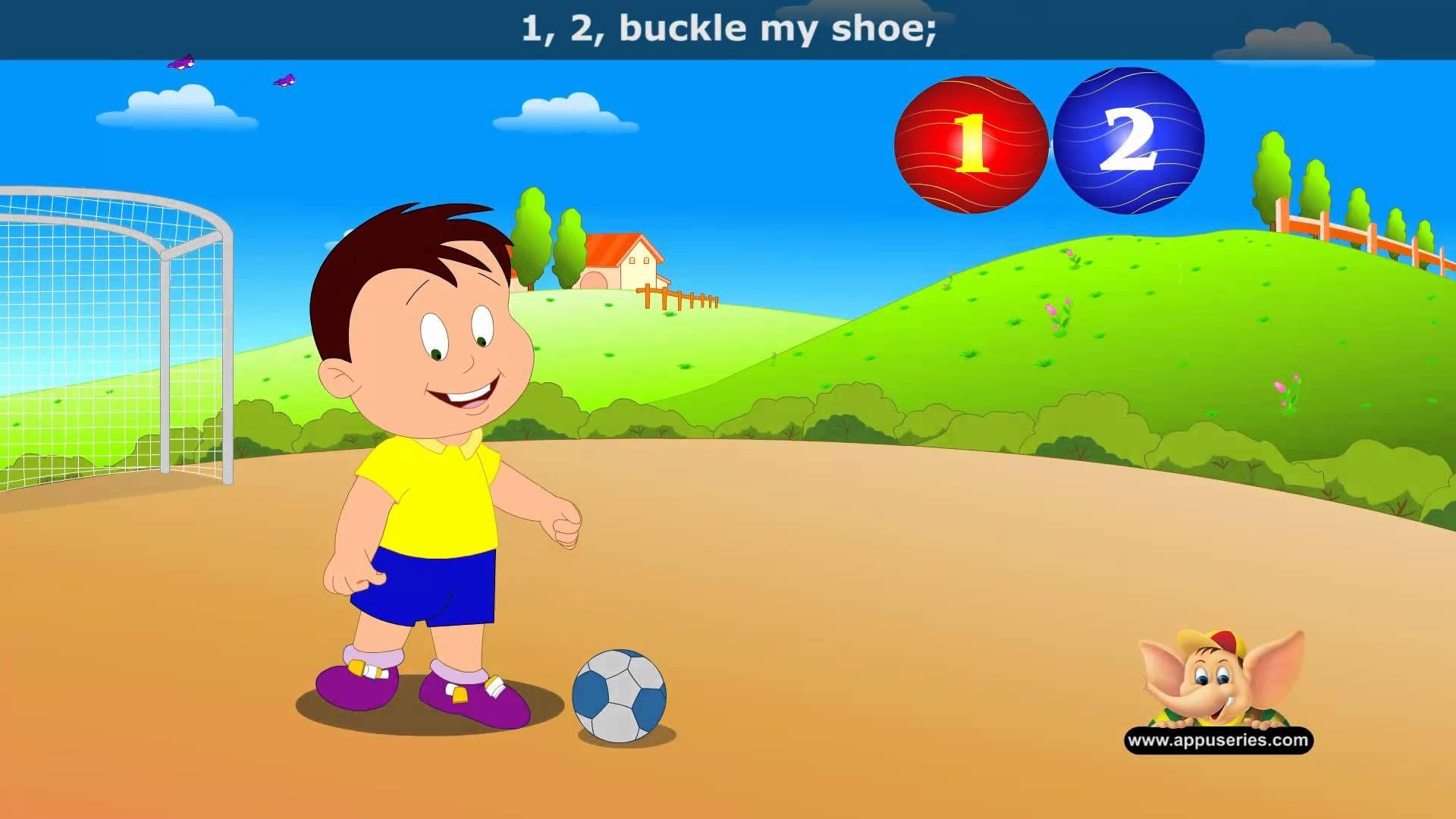 1 2 Buckle My Shoe
