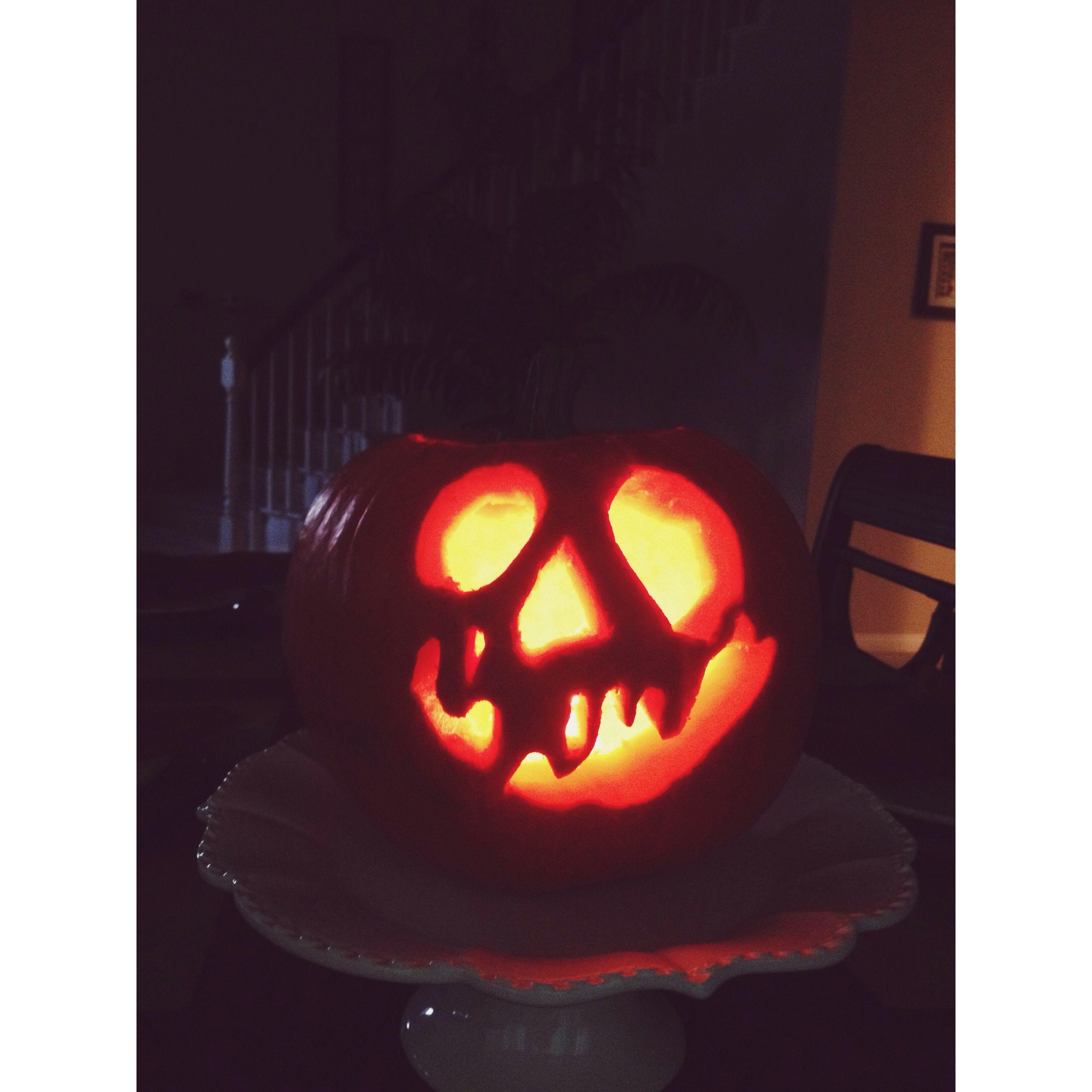 recipe: apple pumpkin carving [9]