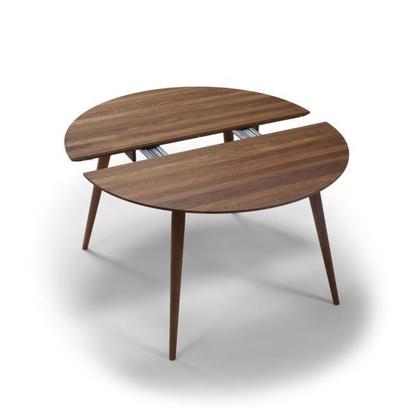 Playdinner Round Table W Extension Kleiner Esstisch Esstisch