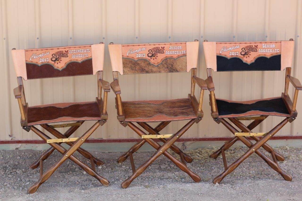 Director chairs western decor art u diy pinterest livestock