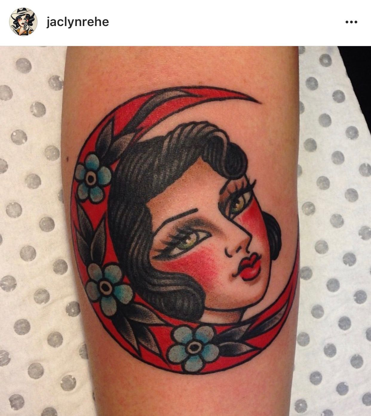Pin By Carrie S On Girl And Moon Sleeve Tattoos For Women Traditional Tattoo Tattoos
