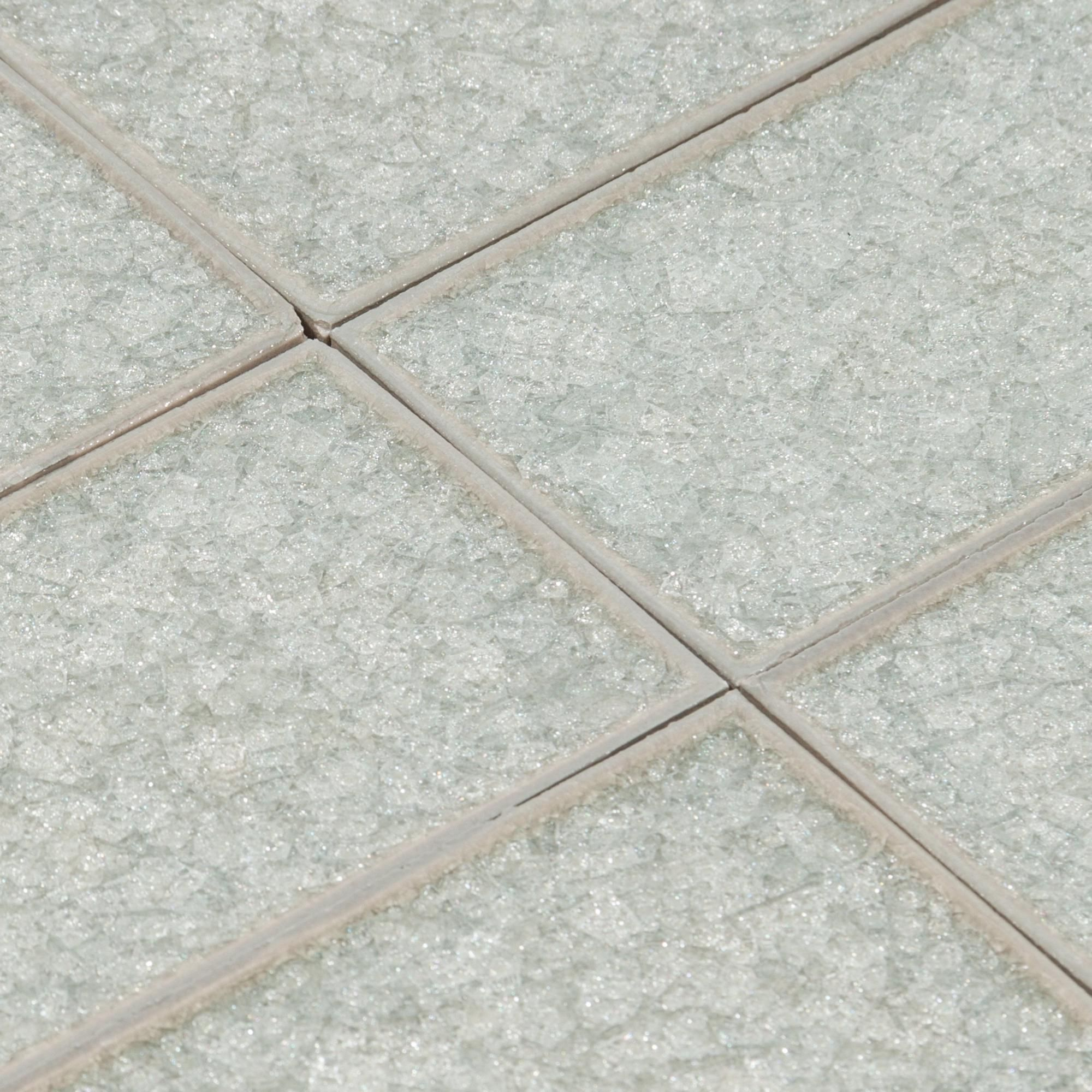 Thyme Crackle Glass Tile   3in. X 9in.   100086875 | Floor And Decor