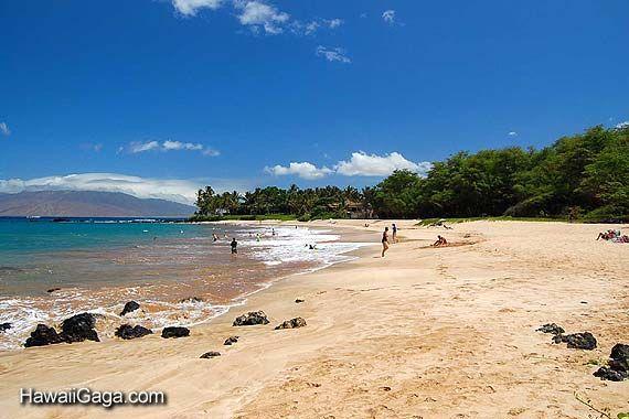 Palauea White Rock Beach Between
