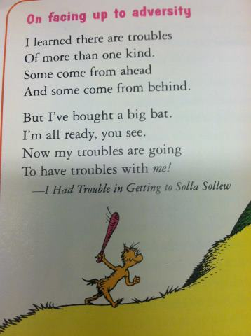 Thats What I Need A Big Bat A Lesson From Dr Seuss On