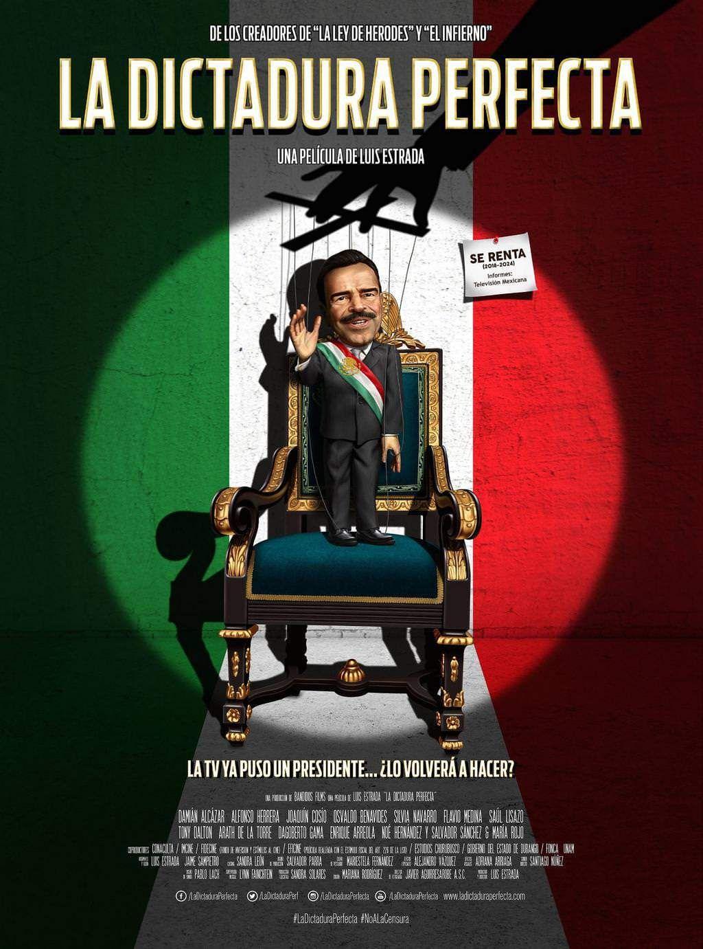 869. La Dictadura Perfecta (2014) 0 de 5 Director Luis