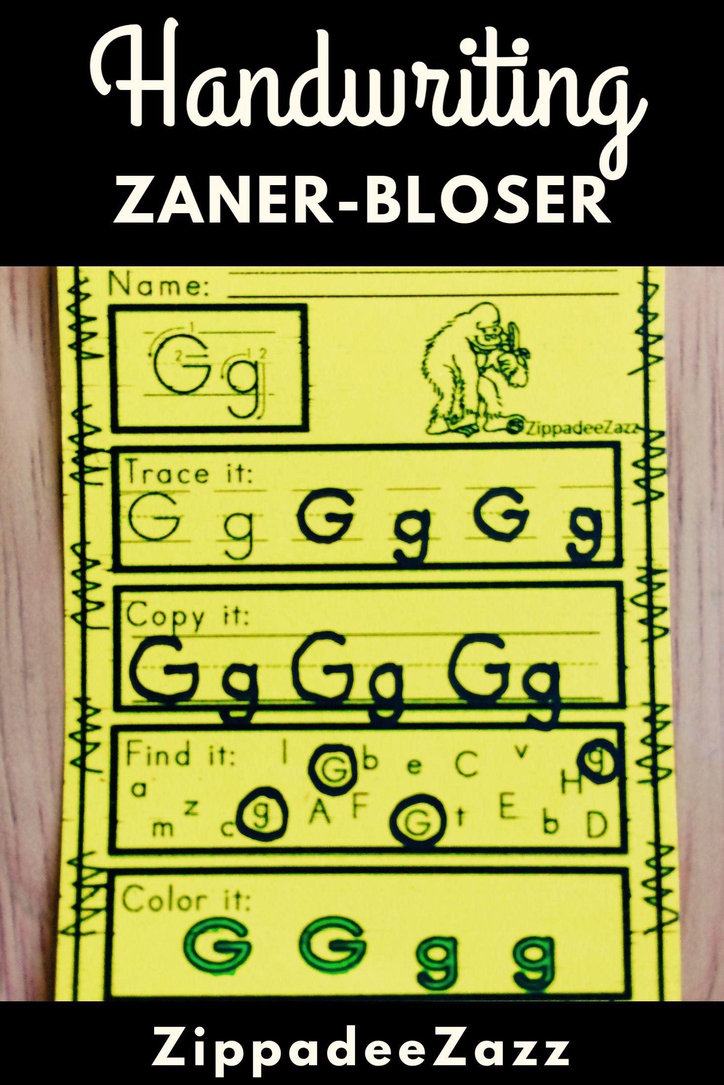 worksheet Zaner Bloser Handwriting Worksheets worksheets for zaner bloser handwriting practice practice