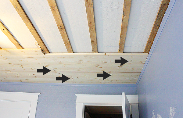 Diy Shiplap Bedroom Ceiling Home Projects Makeovers Diy Shiplap Shiplap Bedroom Shiplap Ceiling