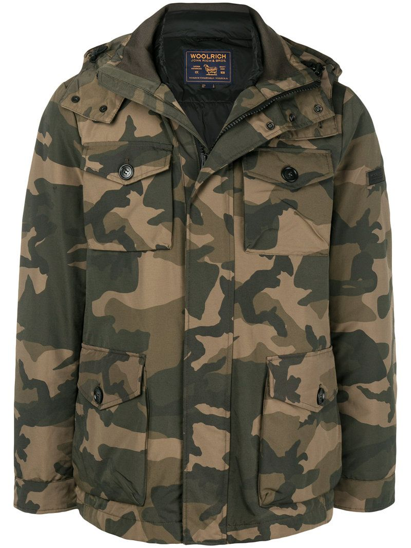 WOOLRICH PADDED FIELD JACKET.  woolrich  cloth    2b86504283b