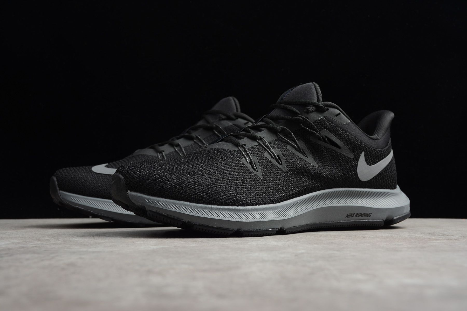 2ff4a4b1 Men's Nike Quest 1.5 Black/Anthracite-Cool Grey AA7403-002 | Nike ...
