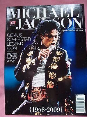 XXL Presents Michael Jackson Genius Superstar Legend Icon Special Collector Issu - http://www.michael-jackson-memorabilia.com/?p=15970