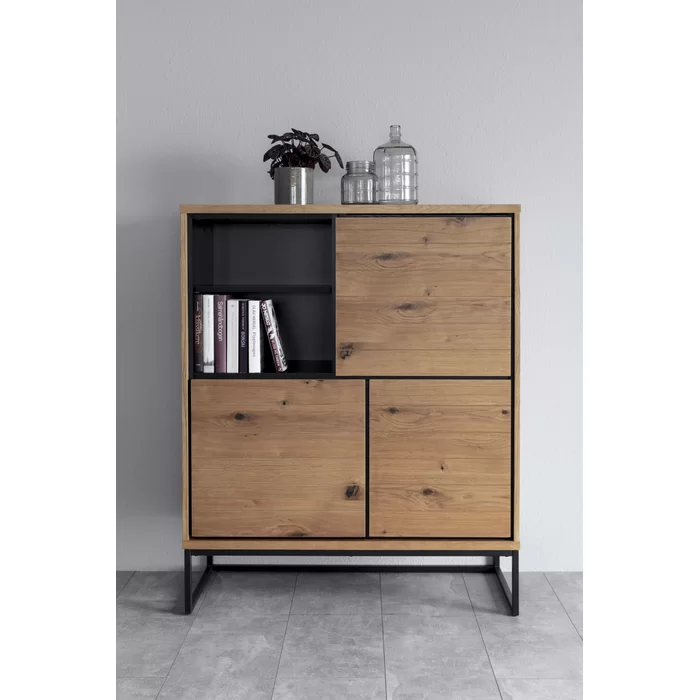 Lytchett Highboard Furniture Storage Places Hidden Shelf