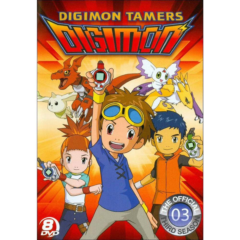 Digimon: Digimon Tamers - The Official Third Season [8 Discs]