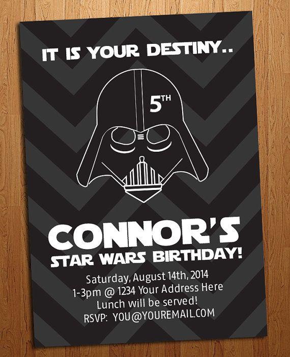 Star Wars Invitation Birthday Party Etsy Star Wars Invitations Star Wars Birthday Party Lego Star Wars Birthday