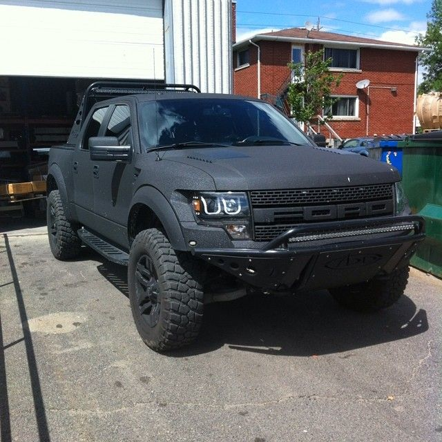 Linex on Ford Raptor body