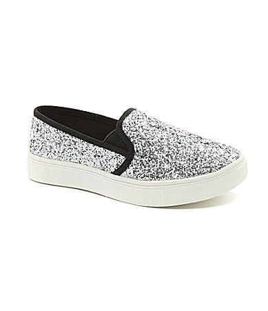 Steve Madden Girls JEccentric Casual Sneakers. These are sooooooo cute!! #Dillards #Shoes