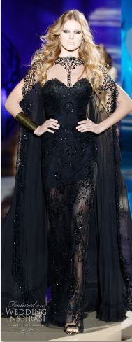 zuhair murad 2010... something hauntingly beautiful about this