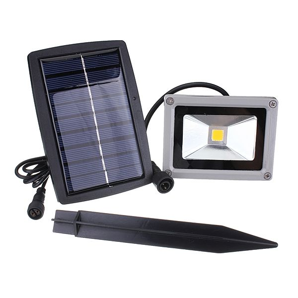 10w Led Flood Light Landscape Spotlight Solar Outdoor