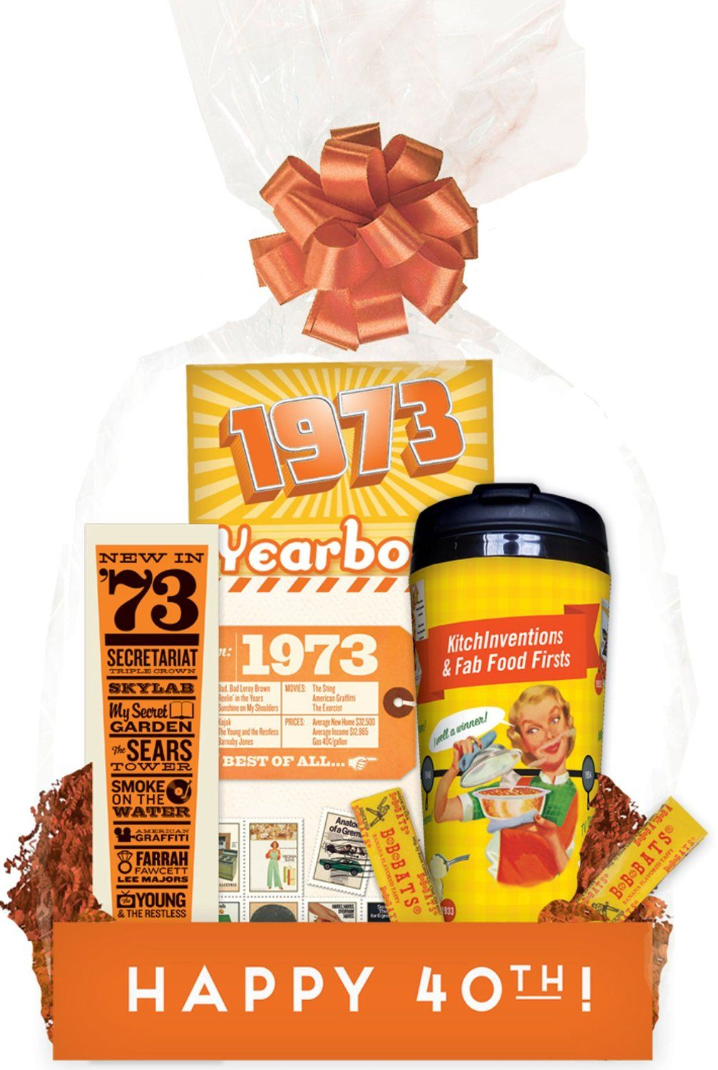 40th Birthday Gift Basket Budget Friendly Blast From The Past Amazon Grocery Gourmet Food