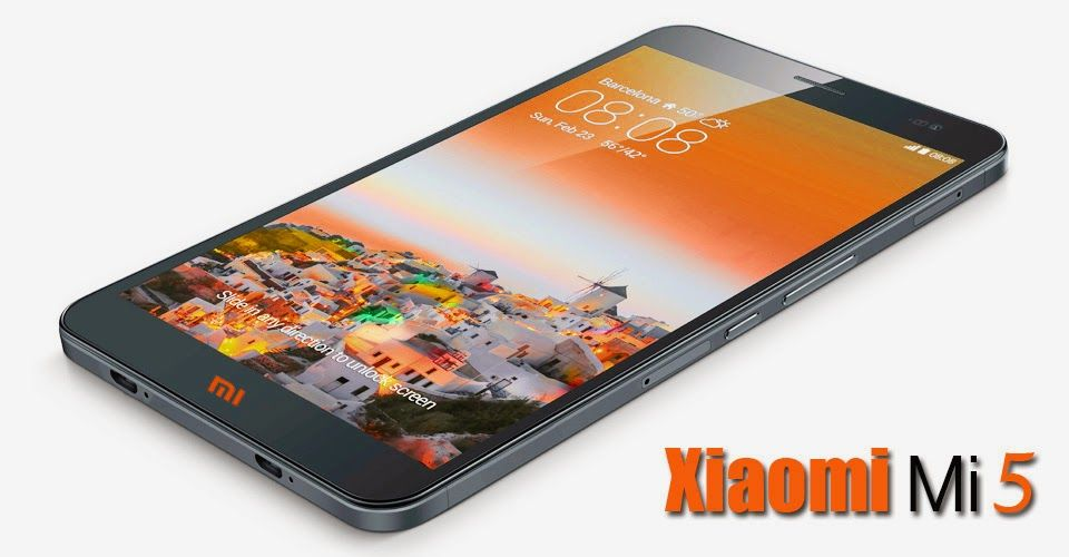 Mobile World: Xiaomi Mi5 Smart Phone